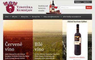 vinoteka kurdejov